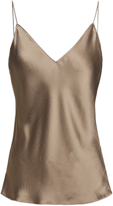 Theory Hammered-satin Camisole