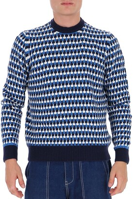 Prada Jacquard Sweater