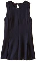 Nautica Girls Plus Sleeveless Pleat Dress (Big Kids)