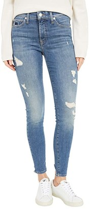 Lucky Brand Mid-Rise Ava Super Skinny Jeans in Rover Dest Chew (Rover Dest Chew) Women's Jeans