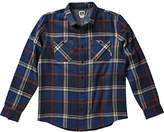Reef Men's Ice Dip Heavy Weight Long Sleeve Plaid Flannel Shirt