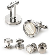 Bloomingdale's The Men's Store At The Men's Store at Decorative Circle Stud and Cufflink Set