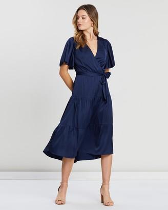 Atmos & Here Aubrey Tiered Dress