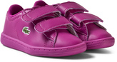 Lacoste Pink Infants Carnaby 317 Velcro Trainers