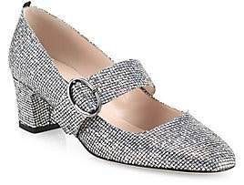 Sarah Jessica Parker Women's Tartt Shimmer Mary Jane Pumps