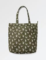 Fat Face Squirrel Cotton Shopper Bag