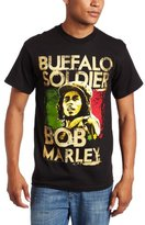 Zion Rootswear Men's Marley Buffalo Soldier T-Shirt