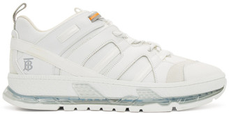 Burberry White Union Sneakers