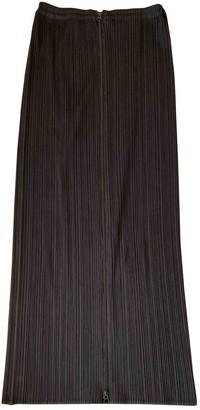 Pleats Please Black Synthetic Skirts