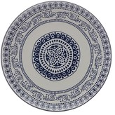 Maxwell & Williams Blue Antico 31cm Round Platter Gift Boxed