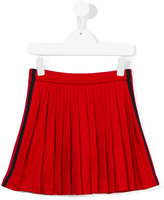 Gucci Kids - pleated skirt - kids - Cotton/Polyester - 8 yrs