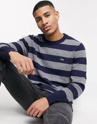 Lacoste stripe sweater