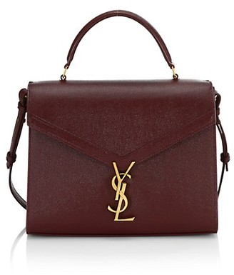 Saint Laurent Medium Cassandra Leather Satchel