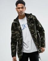 Esprit Zip Thru Camo Shower Proof Jacket