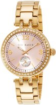Ted Baker Women's 10023477 Classic Analog Display Japanese Quartz Gold Watch