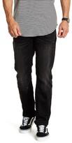 "Buffalo David Bitton Evan Slim Straight Jeans - 30-34\"" Inseam"