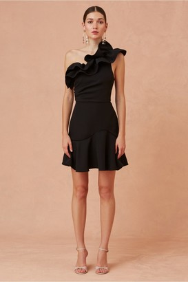Keepsake COMPOSE MINI DRESS black
