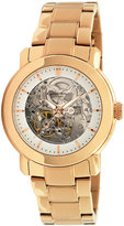 Kenneth Cole New York Watch, Women's Automatic Rose Gold Plated Stainless Steel Bracelet KC4758