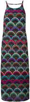 Emporio Armani embroidered dress - women - Silk/Polyester/Acetate/Acrylic - 40