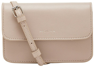 Mocha Mini Giselle Chain Crossbody Bag - Taupe