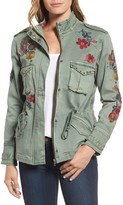 Women's Billy T Embroidered Denim Utility Jacket