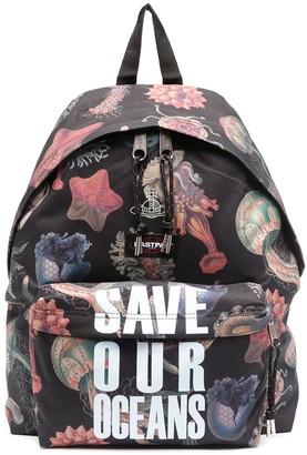 Eastpak Vivienne Westwood 'save our oceans' collaboration backpack