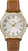 Timex Women's Heritage Cream Dial with a Tan Leather Strap Watch TW2R23000