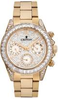 Croton Women's Austrian Crystal & Cubic Zirconia Stainless Steel Watch