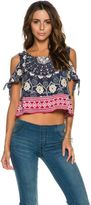 O'Neill Lianne Printed Woven Top