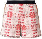 20:52 - checked shorts - women - Cotton/Nylon/Polyester - 42