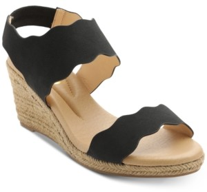 XOXO Stanford Espadrille Wedge Sandals Women's Shoes