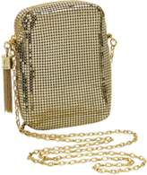 Whiting & Davis Chain Tassel Mini Crossbody.