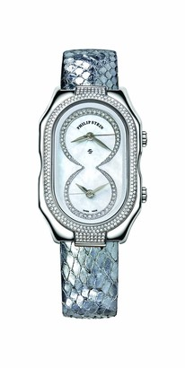 Philip Stein Teslar 11dp-idwLadies WatchAnalogue QuartzMother of Pearl Dial Silver Leather Strap