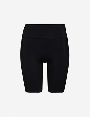 Vaara Millie high-rise stretch-jersey shorts