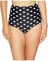 Unique Vintage High-Waist Louise Swim Bottom Women's Swimwear