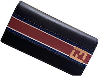 Fendi Navy Leather Small bags, wallets & cases