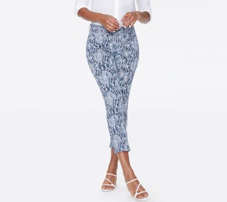 NYDJ Sheri Ankle Jean with Mock Fly