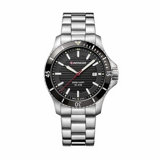 Wenger Men's Seaforce - Swiss Made Analogue Quartz Stainless Steel Watch 01.0641.118