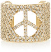 Sheryl Lowe 14K Gold And Diamond Ring
