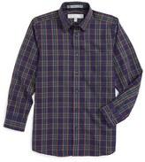 Nordstrom Boy's Holiday Plaid Dress Shirt