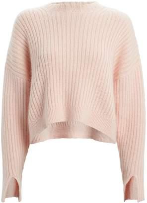 3.1 Phillip Lim Rib Knit Wool & Mohair Sweater