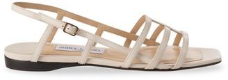 Jimmy Choo Arien Flat Leather Sandals