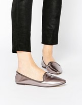 London Rebel Point Flat Shoes