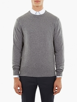 Éditions MR Grey Cashmere-Blend Sweater