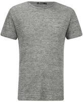 T By Alexander Wang Short Sleeve Tshirt - Heather Grey