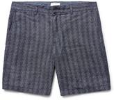 Club Monaco Baxter Herringbone Linen Shorts