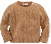 Ralph Lauren Boy Cable-Knit Cashmere Sweater