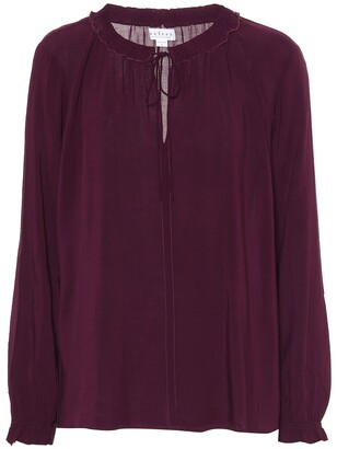 Velvet Samantha challis peasant blouse