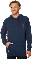RVCA Line Dance Mens Pullover Hood Blue