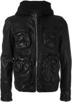 Neil Barrett hooded multi-pocket jacket